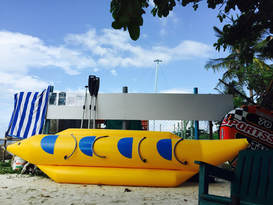 Banana Boat and Fun Bed