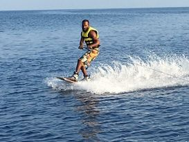 Wake boarding and knee boarding